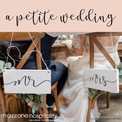 A Petite Wedding Menus and Packages